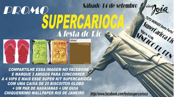 PROMO supercarioca sp