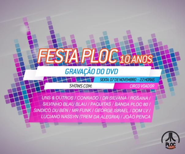 Festaploc_Gravação