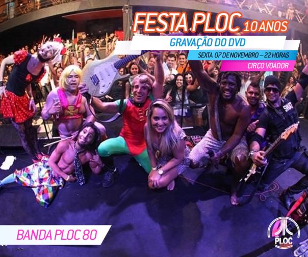 Festaploc_Gravação_Banda Ploc 80