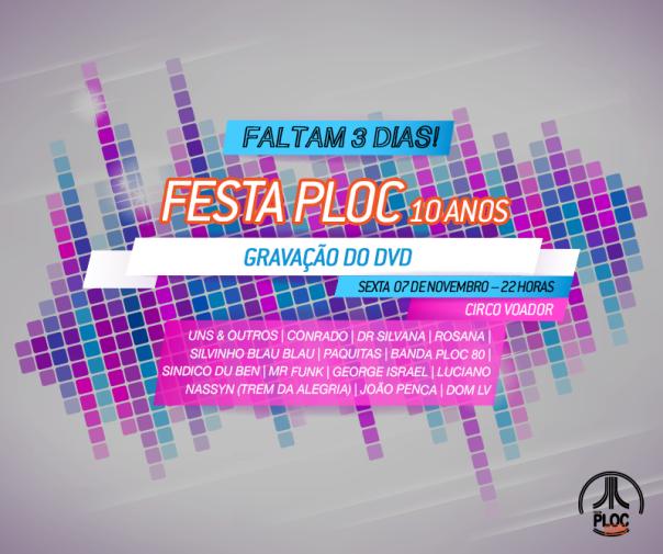 Festaploc_Gravação_3dias
