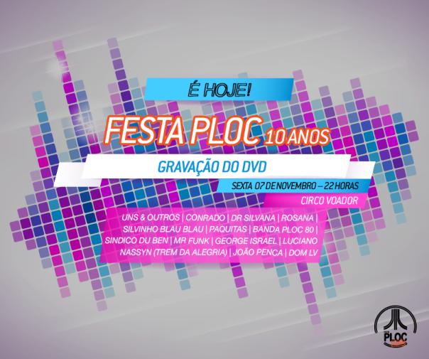 Festaploc_Gravação_Hoje
